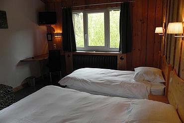 Chambre pour 3 personnes à l'Hôtel des Skieurs